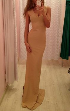 nude maxi. need this.