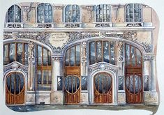 urban sketchers | Urban sketchers Paris (4) - a gallery on Flickr: