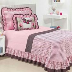 See related links to what you are looking for. Linen Bedding, Bedding Sets, Duvet, Girl Room, Girls Bedroom, Bed Cover Design, Cool Curtains, House Beds, Bed Covers