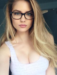 Best 26 Photos of Alexandria Morgan. Alexandria Morgan has incinerated the internet over the past couple weeks. The curvy model currently has less than Alexandria Morgan, Big Glasses, Girls With Glasses, 2017 Glasses, Glasses Style, Glasses Frames, Wearing Glasses, Womens Glasses, Pretty Face