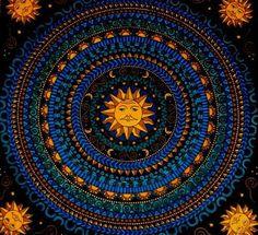 Hippie Tapestries | hippie sun colorful tapestry bloodshoteyesandastarlesssky •