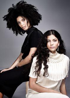 Ibeyi's Naomi and Lisa-Kaindé Díaz Talk about Their Music-Wmag