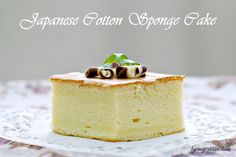 my-sweet-hut: Japanese Cotton Sponge Cake Asian Recipes, Sweet Recipes, Cake Recipes, 2nd Wedding Anniversary, Cotton Anniversary, Anniversary Ideas, Fusion Food, Japanese Cotton, Sponge Cake