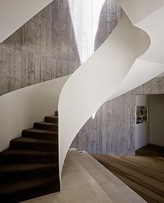 The Yarra House Contemporary Staircase Design by Leeton Pointon and Susi Leeton http://www.leetonpointon.com/projects/yarra_house
