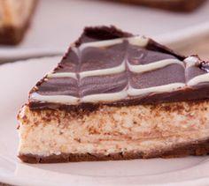 Cheesecake de Banana e Chocolate