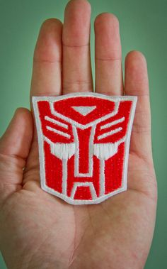 Autobot  Embroidered Ironon Transformers Patch by OKsmalls on Etsy, $5.00