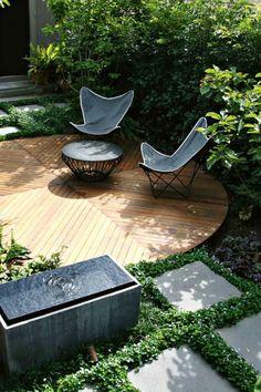ben scott garden design / maitland street garden, melbourne
