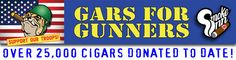 Gars for Gunners Cigars - from our good friends at Smoke Inn