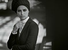 Adriana Lima by Peter Lindbergh for M le Monde 6th September 2014