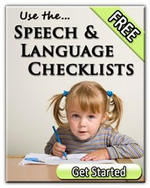 Speech therapy site that has lists of what should be expected at each age, as well as tips for getting your child on track.
