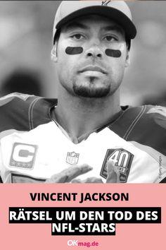 Traurige Nachrichten aus der Sportwelt: NFL-Star Vincent Jackson (†38) ist tot. Der Football-Spieler wurde leblos in seinem Hotelzimmer aufgefunden, die Todesumstände sind unklar. #vincentjackson #rip #nfl #football #sport #okmag Vincent Jackson, Nfl Football, Real Life, Youtube, Star, People, Fictional Characters, Ice, Hotel Bedrooms