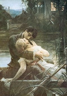 Maximilian Pirner - Lovers in the Small Boat