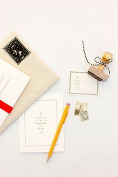 Stationery (Wedding) Collection | MaeMae Paperie (love the product descriptions!)