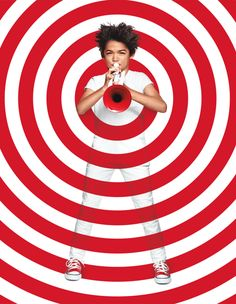 Target campaign - Allan Peters: https://www.behance.net/gallery/31826275/2015-Target-Branding