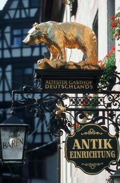 Visiting the World's Oldest Hotels.  This one is in Germany!  ASPEN CREEK TRAVEL - karen@aspencreektravel.com