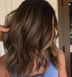 23 Mind Blowing brunette golden balayage hair For 2018
