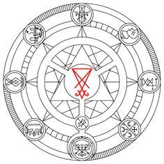 Elven Star (Seven pointed star, Septagram, Heptagram