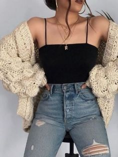 Cute Fall Outfits Ideas 2018 - 50 fall outfit ideas ⋆ Take NoteYou can find Outfit ideas and more on our website.Cute Fall Outfits Ideas 2018 - 50 fall outfit ideas ⋆ Take Note Cute Comfy Outfits, Cute Fall Outfits, Stylish Outfits, Spring Outfits, Cute Outfits For Girls, Fall Outfit Ideas, Outfits For School, Dress Ideas, Cute Simple Outfits