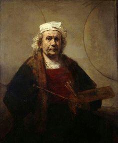 Rembrandt-self portrait