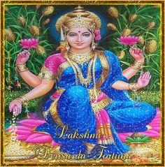 Cantinho de Imagens da Guerreira: Deusa-Lakshmi