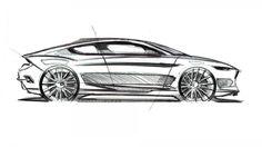 Ford Evos Concept Design Sketch