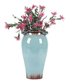 Another great find on #zulily! Turquoise Vase by  #zulilyfinds