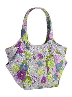 Vera Bradley Side by Side Tote in Watercolor  was $68.00 now 60% off!