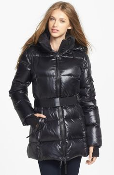 Free shipping and returns on SAM. 'Soho' Belted Goose Down Jacket at Nordstrom.com. A cold-weather jacket insulated with lofty goose-down fill exudes contemporary chic with a shimmery liquid-shine shell and stretchy belt cinching the waist. Other sporty details include a lofty stand collar, zip-off hood and knit storm cuffs.