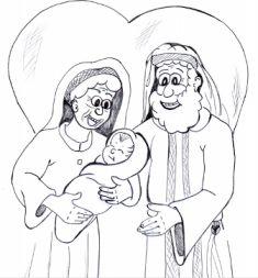 Abraham and Sarah Sunday School lesson and Sunday school activity