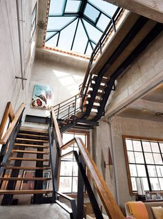 Outside Steel Stairs