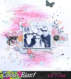 Look into my life: You Are My Happy | Colour Blast | Sue Plumb