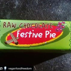 We agree theyre very rich- raw #cacao dark #chocolate mixed with spices & flavours- and so many flavours to try! (and are usually 2 servings per #Raw #Choc Pie ) #lovethem #tasty  Theres also the 30g Slices available which are half a 60g Pie so they can be finished in one sitting   #Repost @veganfoodfreedom  Tried this Raw Chocolate Festive Pie which I also received in my box from @veopolis Its a bit of an odd product I must admit. Its all squidgy with a lovely mix of spices; I wasnt able to…