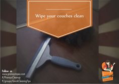 Use a clean and dry wiper to clean your couches. Press and swipe the surface to collect any pet hair, dust and dirt. For good quality cleaning products that help you keep your home clean please visit http://www.pranayimpex.com/