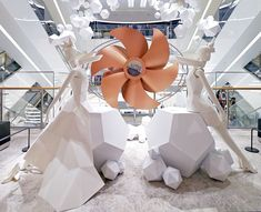 "HYUNDAI DEPARTMENT STORE, Pangyo,South-Korea, ""Around the World in 80 Days"",by Prop Studios,pinned by Ton van der Veer"