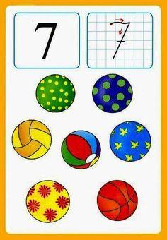 Number flashcards 1-10 | funnycrafts
