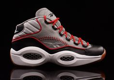 """182042fefedf Reebok Question Mid """"practice"""" Iverson Shoes"""