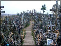 The Hill of crosses. Siauliai, Lithuania.
