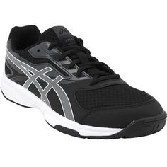 Asics Gel Upcourt 2 Volleyball Shoes - Mens Black White
