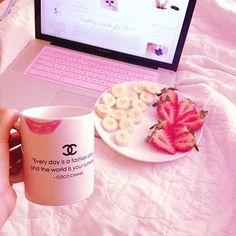 ♡ピンク ホワイト