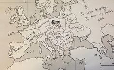 Europe-oceans-geography-map-names