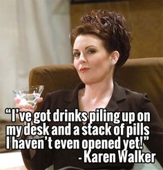Karen Walker Will and Grace | We love Karen Walker from Will & Grace! | Funny women!