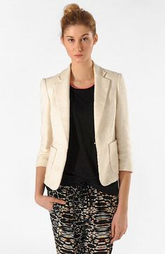 maje 'Lypsa' Blazer available at #Nordstrom