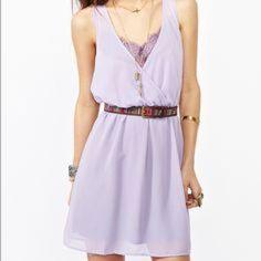 Nasty Gal Purple Dress