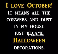 Love Ecards, Happy Fall Y'all, Halloween Decorations, My Love, Funny, Hallows Eve, October, Holidays, Vacations