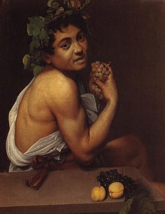 Commission your favorite Michelangelo Merisi da Caravaggio oil paintings from thousands of available paintings. All Michelangelo Merisi da Caravaggio paintings are hand painted and include a money-back guarantee. Baroque Painting, Baroque Art, Italian Painters, Italian Artist, Michelangelo Caravaggio, List Of Paintings, Tableaux Vivants, Wine Painting, Sick