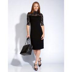 Karen Kane Josh Lace Dress ($128) found on Polyvore