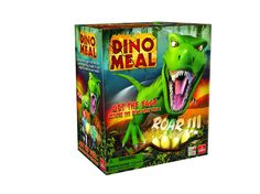 Dino Meal - Get the Eggs Before the Dino Gets You! My kids have a lot of fun playing with this and there's always the fun suspense, not knowing when the T-Rex will lunge at you!