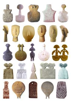 Cycladic Goddess Sculptures