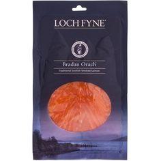 Ocado: Loch Fyne Bradan Orach Smoked Salmon Information) Smoked Fish, Smoked Salmon, Loch Fyne, Scottish Salmon, Snack Recipes, Chips, Packaging, Inspiration, Food