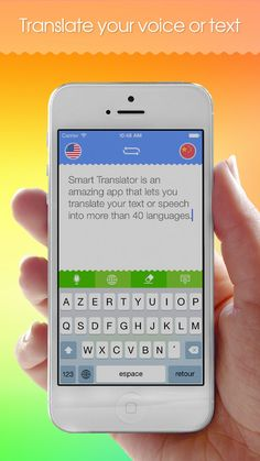 Smart Translator: Speech and text translation from English to Spanish and 40 foreign languages! on App Store:   == The app is temporarily free. Download today! == Smart Translator is an amazing app that lets you translate your text or speech into more th...  Developer: Anfasoft  Download at http://ift.tt/1r0Ua0N